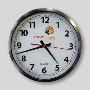 Branded Clock