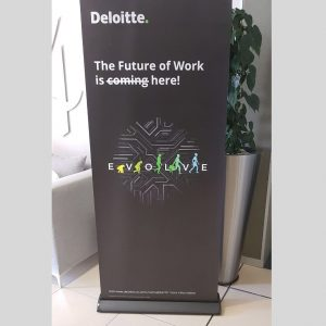 Roll Up Banner or Pull Up Banner